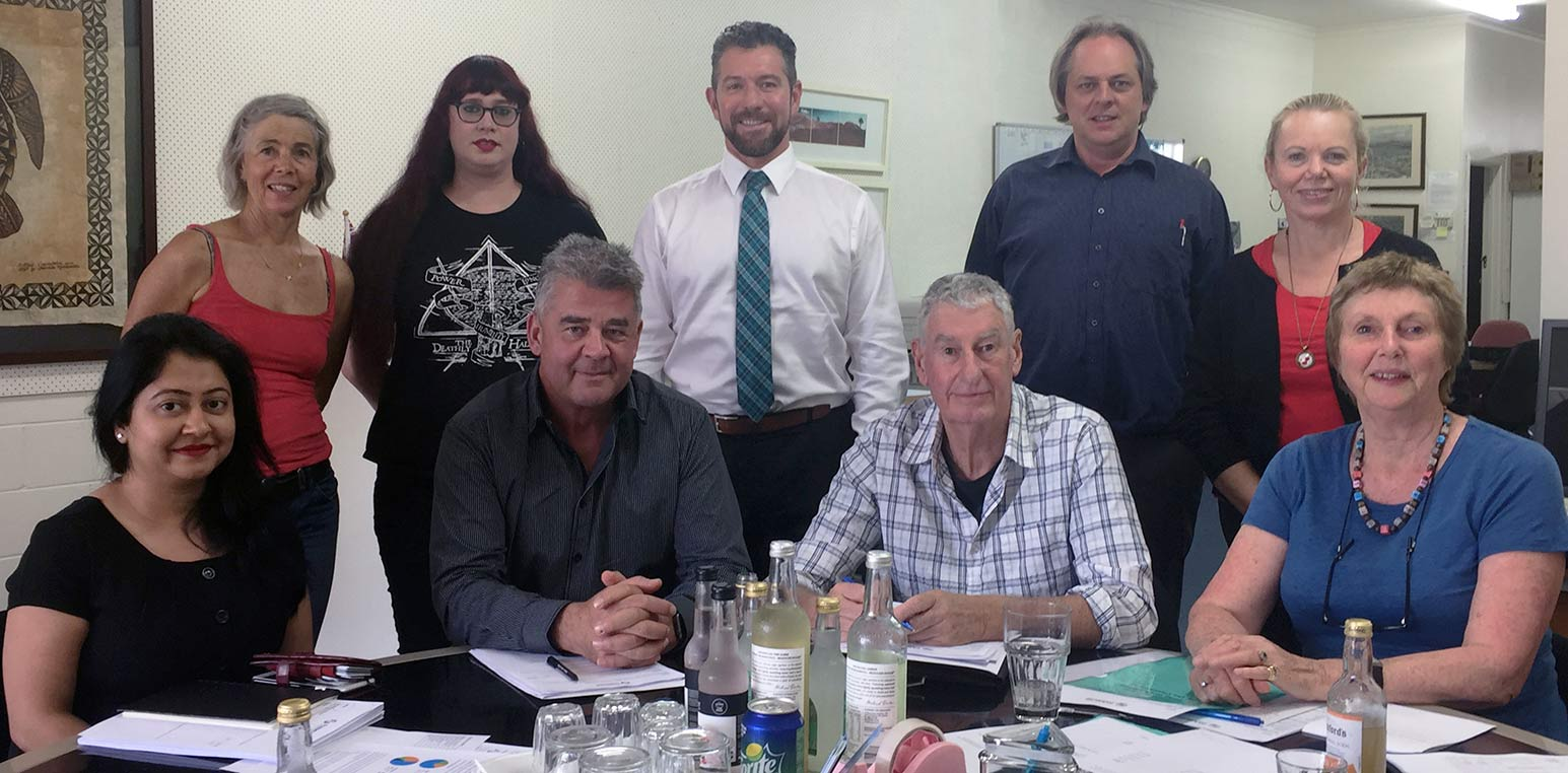 Panmure BA board meeting